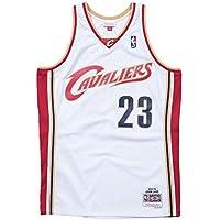 hot sale online 2c904 8682c Mitchell   Ness LeBron James  23 Cleveland Cavaliers 2003-04 Swingman NBA  Trikot Weiß