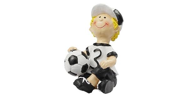 Dekofigur  Tortendeko *Fußballer 6 cm* 3870301 sitzend
