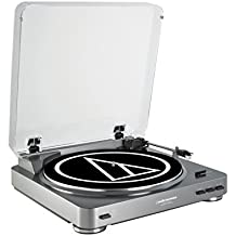 Audio-Technica AT-LP60-USB tocadisco - Tocadiscos (120V, 60 Hz, Mac OS X 10.1+ Windows 98+, 360 x 356 x 97,5 mm, 3 kg)