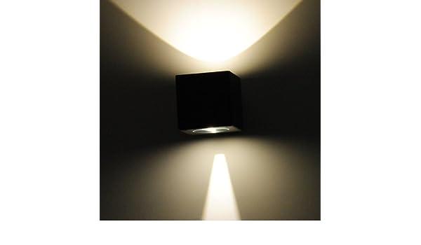 Applique led moderno doppio fascio di luce regolabile faretto per