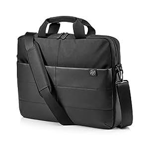 "HP 1FK07AA Borsa Messenger per Notebook Fino a 15.6"", Nero Impermeabile"