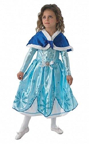 zessin Sofia die erste Buch Tag Woche Halloween Weihnachten Kostüm Outfit - Blau, 116 (Halloween-kostüme Sofia Die Erste)