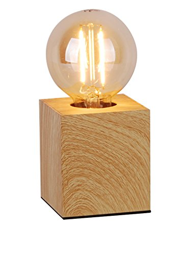 Lucide PABLO - Lampe De Table - Bois