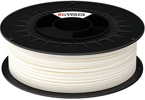 Bobina para impresora 3D de FormFutura (175PPLA-FROWHI-1000); PLA, 1,7