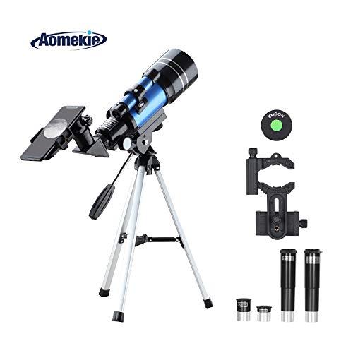 Aomekie Telescopio Niños Principiante 70/300