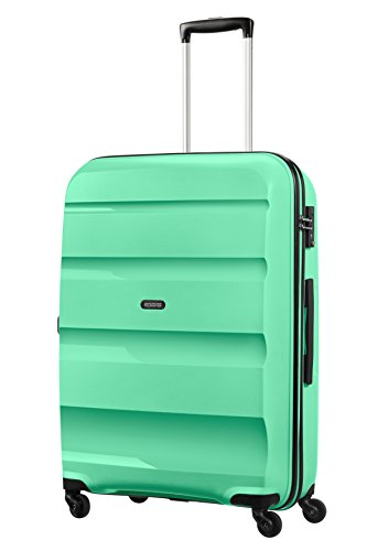 AMERICAN TOURISTER Bon Air - Spinner L Hand Luggage, 75 cm, 91 liters, Green (Mint Green)
