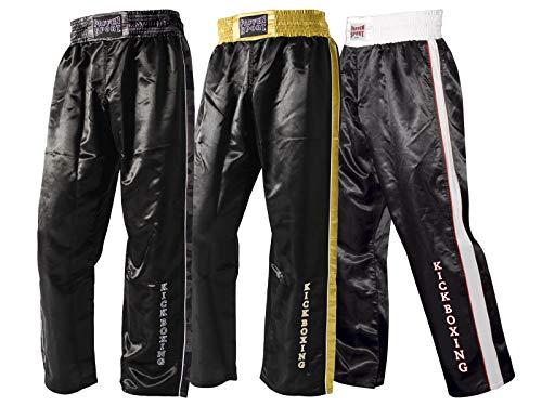 Paffen Sport Kick Star Kickboxhose - schwarz/Gold - Größe: L