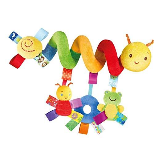 Euro Krippe (Krippen-Spielwaren, TianranRT-Baby-Multifunktions-Tierbett-Verpackungs-Spielwaren Krippen, die Glocken hängen)