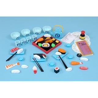 Childrens Plastic Japanese Food Set-A1433