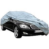Funda exterior premium para Dacia DUSTER 2010, impermeable, doble capa sintética y de finas trazas de algodón por el interior, transpirable para evitar la condensación en el parabrisas.