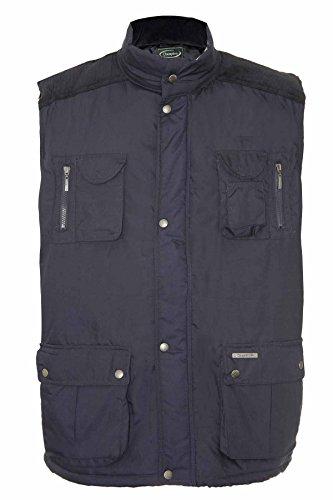 Champion - Manteau sans manche - Veste damassée - Uni - Homme Bleu - Navy - Exmoor