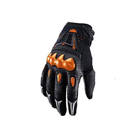 Guanti Moto Estivi Motocross Off Road Glove Full Finger Touch Screen Guanti Moto Ciclismo Racing per Mountain Bike e Regalo di compleanno