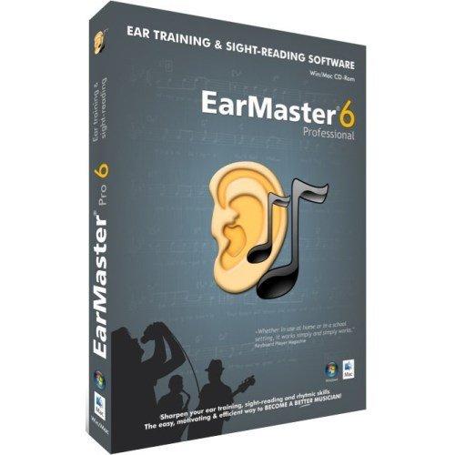 Gehörbildung Software EarMaster 6 für Win/Mac DEUTSCH [CD-ROM]