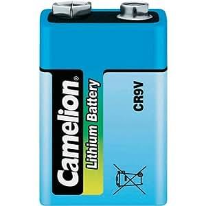Pile 9V (6R61) lithium 1200 mAh Camelion