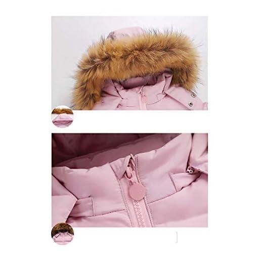 Ski Bib Pants 2 Piece Set Outfit //1-3Years Unisex Baby Cartoon Snowsuit Winter Warm Baby Girls Boys Snow Suit Fur Hood Puffer Down Jacket