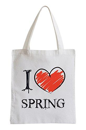 Amo Primavera Fun sacchetto di
