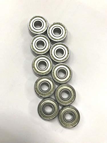 0b2209272a Sticker Design Shop 608ZZ 608 ZZ - Rodamientos para Bolas (10 Unidades,  Ligeramente engrasados