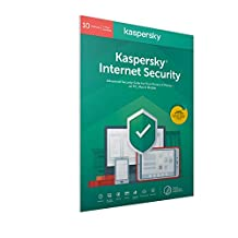 Kaspersky Internet Security 2020 | 10 Devices | 1 Year | Antivirus and Secure VPN Included | PC/Mac/Android | Activation Code by Post|10 Devices 1 Year|10|1 Year|PC|Download