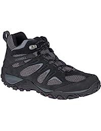 Merrell Yokota 2 Mid Waterproof J46543 de Randonnée Chaussures Bottes pour  Homme J46543 Black 44.5 EU ba352b57a7a