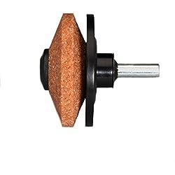 Multi-Sharp 1301 Affûteuse de lames multifonctions pour tondeuses rotatives, pelles, houes, taille-bordures, hâches et autres outils de jardinage