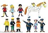 Pippi Langstrumpf Puppenhaus Figuren 11 teilig