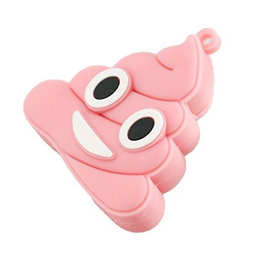 16GB Pink Emoji mierda forma USB Flash Drive Memoria Pen Drive pendrive USB Flash Disk Memory Stick Thumb Drive