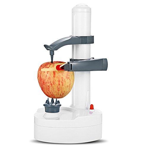 Automatische Elektrische Kartoffelschäler, Kartoffelschäler Gemüse Apple Obst Automatische Rotierenden Fräser Gemüsemesser Maschine Küche Peeling Elektrowerkzeug (Apple Fräser)