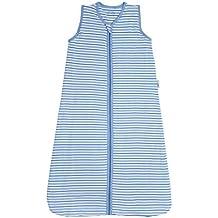Slumbersac - Saco de dormir para bebé con diseño de rayas azules (para todo el