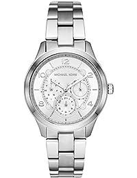 29c500e72fa1 Michael Kors Reloj Analógico para Mujer de Cuarzo con Correa en Acero  Inoxidable MK6587