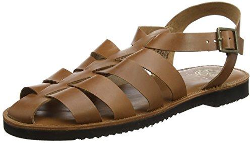 KG by Kurt Geiger Men's Lagos Ankle Strap Sandals, Brown (Tan), 9...
