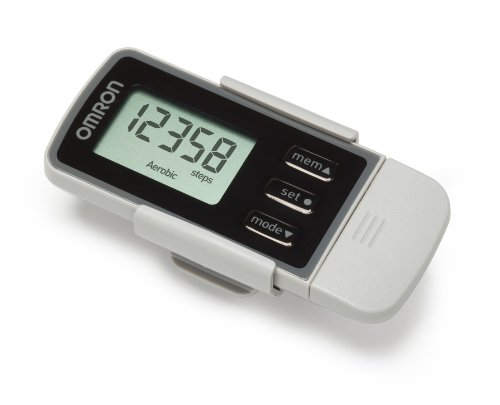 Omron Walking Style Pro 2.0 Activity Monitor Advanced Step Counter - Black