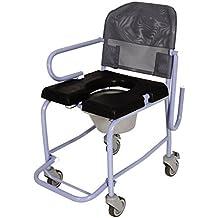Silla de ducha con ruedas y WC - Obea - AGGFD70