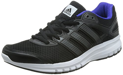 adidas Originals Herren Duramo 6 Laufschuhe, Schwarz Core Black/Night Flash S15, 43 1/3 EU (Adidas Adiprene Schuhe)