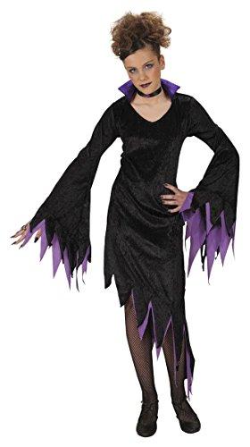 �Dark Mistress, 158cm/11–13Jahre (Dark Elf Halloween Kostüme)