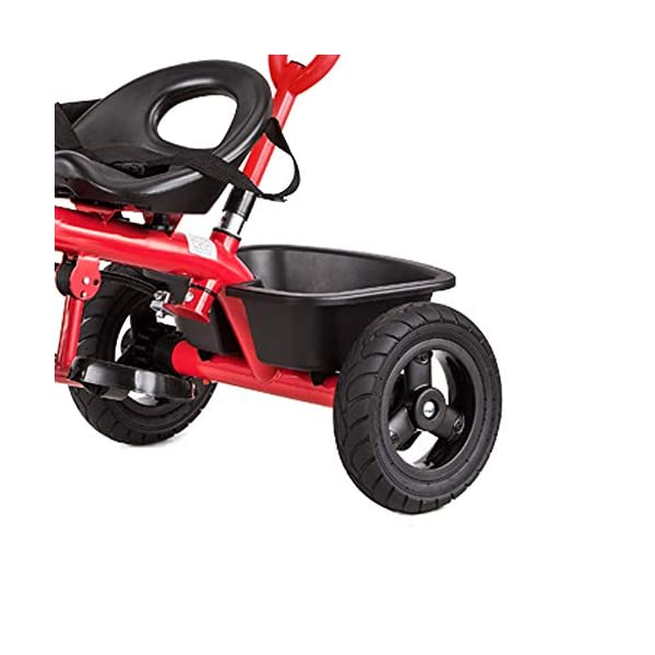 LRHD Baby Bicycle 3 Wheels, Baby Stroller, Children Tricycle, 3-in-1 Children Tricycle, Bicycle, 1-5 Year Old Children Pushing and Riding Bicycle, Children, Birthday Gift LRHD 1.[ Perfect Growth Partner]: Tricycle is suitable for children between 18 months and 6 years old. Four riding styles: baby tricycle, steering tricycle, learning to ride tricycle and classic tricycle. Let this tricycle grow up with your children. 2. [Stable safety]: tricycles for children are equipped with safety belts to increase the safety of children; In addition, the double braking system provides greater protection for children. It also has a foldable foot pedal that can be unfolded/folded when you need it. 3. [[Best Gift] Two-in-one Bicycle is the best birthday gift for a baby to learn to ride a bicycle. Excellent indoor baby walker toys can cultivate children's balance ability and help children acquire balance, steering, coordination and self-confidence from an early age. 8