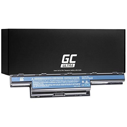 Green Cell Ultra Serie Laptop Akku für Acer Aspire 5551 5552 5733 5741 5741G 5742 5742G 5742Z 5749 5749Z 5750 5750G 5755G (Original Panasonic Zellen, 7800mAh, Schwarz)