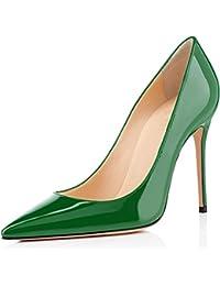 elashe- Scarpe col Tacco - Decolleté Chiuse Donna - Elegante Alto 4 inch -  Scarpe 4ea4c6cc653