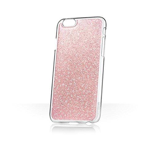 Phoebe Lettice x goo.ey - Étui coque mains libres pour téléphone portable Apple iPhone 6 / 6S Plus - (Paillettes rose) Paillettes rose