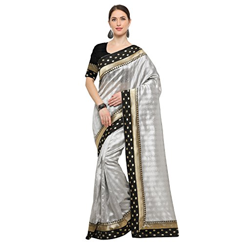 sidhidata textile women's Blended Cotton Silk self design bollywood saree with blouse...