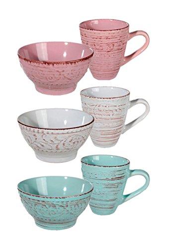 mslischale-mit-becher-antik-finish-in-3-farben-kaffeebecher-msli-schale-farbe-grn