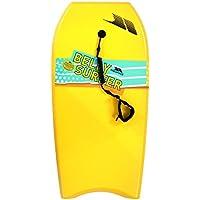 Trespass Kids Belly Surf Bodyboard tabla de surf–amarillo