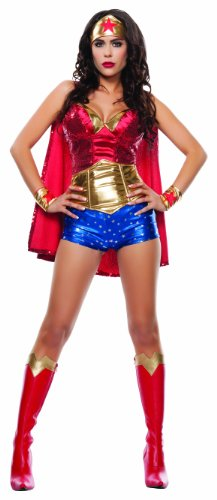 Fancy dress costume Small (Wonder Woman Kostüme Shorts)