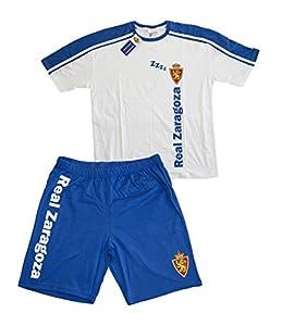 zaragoza: Real Zaragoza Pijzar Pijama Corta, Azul/Blanco, XL