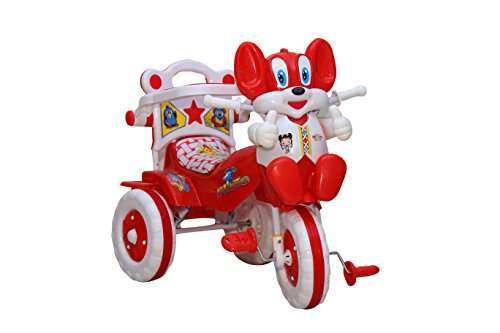 Amardeep 1523MZ Baby Tricycle, Red