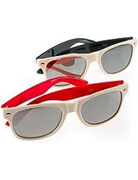Set 2 Pair Lentes Polarizadas Noche y día Hombre Mujeres Noche Conduciendo Gafas Night Glasses Romens Ltd