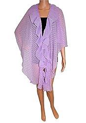 URBAN TRENDZ 2691 Polyester Drap Wrap Topper Neckwear