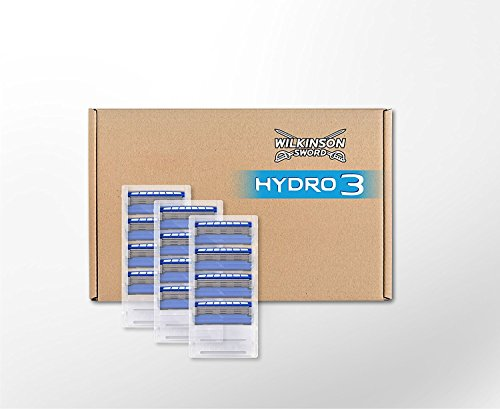 Wilkinson Sword BOX Hydro 3 - Pack 12 Recambio Cuchillas