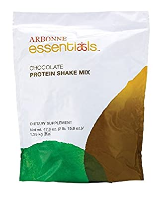 Arbonne Essentials Protein Shake Mix Powder - Chocolate by BHW by Arbonne