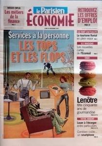PARISIEN ECONOMIE (LE) du 26-11-2007 DOS...