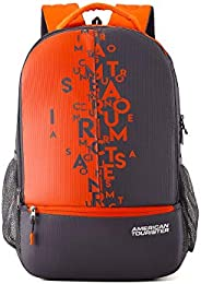 American Tourister 32 Ltrs Grey Casual Backpack (AMT FIZZ SCH BAG 02 - GREY)